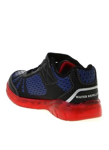 Skechers Skechers 401520N Illumi Siyah - Kırmızı- Mavi Erkek Çocuk Yürüyüş Ayakkabısı Siyah
